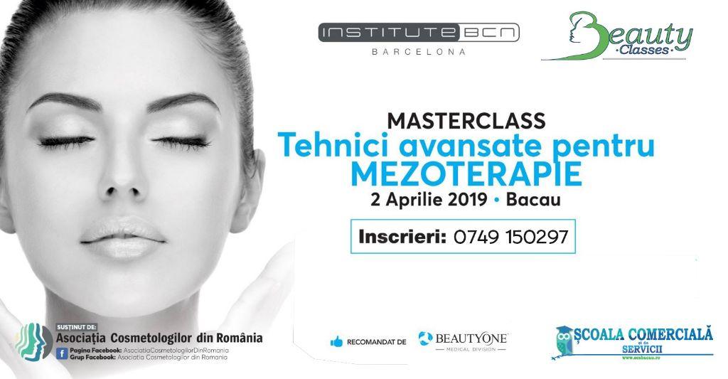 Masterclass - Tehnici Avansate pentru Mezoterapie