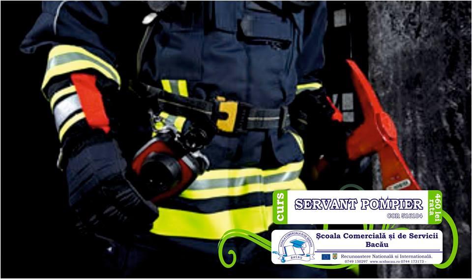 Curs Sef Serviciu Servant pompier